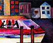 """Nice/ 42 x 24""""/ Oil on Canvas"""