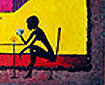 "Honey Cafe/ 32 x 20""/ Oil on Canvas"